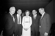 16/11/1966<br /> 11/16/1966<br /> 16 November 1966<br /> O'Brien Plastics Ltd., Bishopstown, Cork reception at the Intercontinental Hotel, Dublin to announce that Philips Petroleum Company, Oklahoma U.S.A had acquired a 50% interest in O'Brien Plastics. Picture Shows (l-r): Mr. Edwin Van Den Bark, Vice President, Philips Petroleum Co.;  Mr. William O'Brien; Mrs O'Brien; Alderman Sean Casey, T.D., Lord Mayor of Cork and Mr. Donal Crosbie, Director of the Cork Examiner.