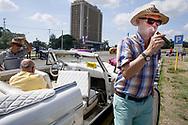 Tourist with cigar, Havana, Cuba