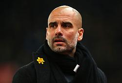 Manchester City manager Pep Guardiola - Mandatory by-line: Robbie Stephenson/JMP - 12/03/2018 - FOOTBALL - Bet365 Stadium - Stoke-on-Trent, England - Stoke City v Manchester City - Premier League