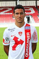 Gaetan BELAUD - 08.09.2014 - Photo officielle Brest - Ligue 2 2014/2015<br /> Photo : Maxime Kerriou / Icon Sport