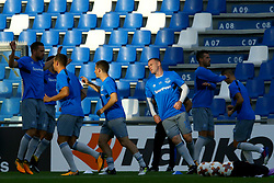 September 14, 2017 - Reggio Emilia, Italy - Uefa Europa League: Group E Atalanta Bc v Everton Fc .Wayne Rooney of Everton during the warm up at Mapei Stadium in Reggio Emilia, Italy on September 14, 2017..Photo Matteo Ciambelli / NurPhoto  (Credit Image: © Matteo Ciambelli/NurPhoto via ZUMA Press)