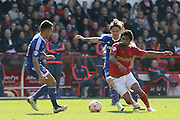 Nottingham Forest midfielder Ryan Mendes   during the Sky Bet Championship match between Nottingham Forest and Brentford at the City Ground, Nottingham, England on 2 April 2016. Photo by Chris Wynne.
