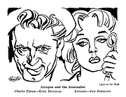 Ace in the Hole: Atropos and the Journalist. Charles Tatum - Kirk Douglas. Lorraine - Jan Sterling.
