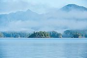 Tofino in Clayoquot Sound, Vancouver Island, British Columbia, Canada.