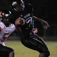 Trask High School hosted Wallace-Rose Hill High School Friday September 26, 2014 in Rocky Point, N.C. (Jason A. Frizzelle)