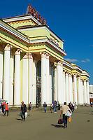 Russie, Ekaterinburg ou Yekaterinburg, gare ferroviaire sur le trajet du transsiberien // Russia, Ekaterinburg or Yekaterinburg, Railway station on the Trans-Siberian trail