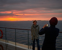 Galway Arrival and Sunrise. Image taken with a Nikon D800 camera and 50 mm f/1.4 lens.