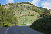 US Route 89 in Logan Canyon, Utah-Logan Canyon National Scenic Byway
