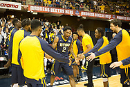 March 5, 2018 - Asheville, North Carolina - U.S. Cellular Center: ETSU forward David Burrell (2), ETSU guard Kanayo Obi-Rapu (0), ETSU center Karl Overstreet (34)<br /> <br /> Image Credit: Dakota Hamilton/ETSU