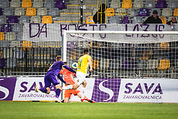 Second goal for Bravo during football match between NK Maribor and NK Bravo in 25th Round of Prva liga Telekom Slovenije 2019/20, on March 7, 2020 in Ljudski vrt, Maribor, Slovenia. Photo by Blaž Weindorfer / Sportida