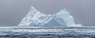 Ice off the coast of South Georgia Island, broken off from the antarctic ice shelf, Weddell Sea