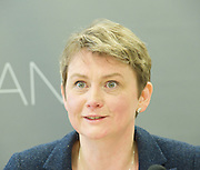 Yvette Cooper speech on immigration<br /> <br /> Yvette Cooper MP, Labour's Shadow Home Secretary key note speech at <br /> Institute for Public Policy Research<br /> <br /> March 2013 <br /> London, Great Britain <br /> <br /> <br /> Yvette Cooper MP, Labour's Shadow Home Secretary<br /> <br /> <br /> Photograph by Elliott Franks