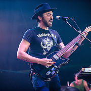 Shakey Graves performs during Merryland Music Festival at Merriweather Post Pavilion in Columbia, MD on July 10, 2016 (Photo by Richie Downs).