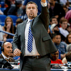 Mar 31, 2017; New Orleans, LA, USA; Sacramento Kings head coach David Joerger against the New Orleans Pelicans during the second half of a game at the Smoothie King Center. The Pelicans defeated the Kings 117-89. Mandatory Credit: Derick E. Hingle-USA TODAY Sports
