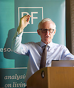 Norman Lamb MP speaks at a Resolution Foundation meeting entitled: <br /> <br /> As if we cared – the costs and benefits of a living wage for social care workers<br /> <br /> 3rd March 2015 <br /> in London, Great Britain <br /> <br /> Minister of State for Care and Support Norman Lamb MP<br /> <br /> <br /> Chaired by <br /> Camilla Cavendish – Associate Editor at The Sunday Times and author of The Cavendish Review<br />  <br /> <br /> Photograph by Elliott Franks <br /> Image licensed to Elliott Franks Photography Services