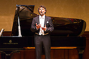 Jonas Kaufmann, tenor, sings at Wigmore Hall accompanied by Helmut Deutsch, piano on Sunday 4th January 2015