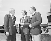 GAA Presentation of cheque at Croke Park, Dublin.29th June 1974