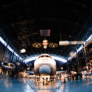 Space Shuttle Enterprise on display at the Smithsonian Air and Space Museum (Stephen F. Udvar-Hazy Center) in Chantilly, Virginia