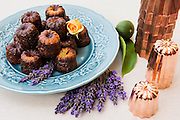 FRANCE, Saint EmilionCanelé (French pastry with a soft custard center and a dark, thick caramelized crust)