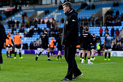 Exeter Chiefs director of rugby Rob Baxter during the warm up prior to kick off - Mandatory by-line: Ryan Hiscott/JMP - 29/12/2019 - RUGBY - Sandy Park - Exeter, England - Exeter Chiefs v Saracens - Gallagher Premiership Rugby