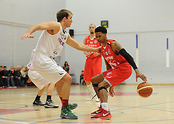 Bristol Flyers' Bree Perine  - Photo mandatory by-line: Dougie Allward/JMP - Mobile: 07966 386802 - 27/02/2015 - SPORT - basketball - Bristol - SGS Wise Campus - Bristol Flyers v Leeds Force - British Basketball League