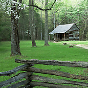A small cabin in Cades Cove.