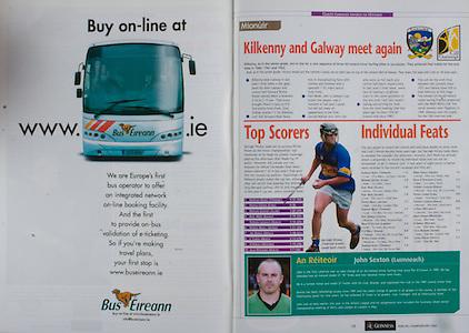 All Ireland Senior Hurling Championship Final,.12.09.2004, 09.12.2004, 12th September 2004,.Senior Cork 0-7, Kilkenny 0-9,.Minor Kilkenny 1-18 ,  Galway 3-12 (draw),.12092004AISHCF,.Bus Eireann,