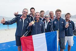 Equipe De France, Voile. Sailing à Rio 2016 Paralympic Games, Brazil
