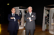 Nicholas Coleridge and Rupert Hambro, Party hosted by Alexandra Shulman, Rupert Hambro and Prof  Jack Lohman to open 'The London Look, Fashion from Street to Catwalk', Museum of London. ONE TIME USE ONLY - DO NOT ARCHIVE  © Copyright Photograph by Dafydd Jones 66 Stockwell Park Rd. London SW9 0DA Tel 020 7733 0108 www.dafjones.com