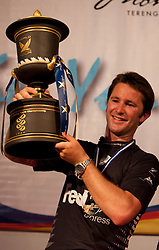 Adam Minoprio (NZL) and ETNZ/Black Match Racing wins the Monsoon Cup 2009. Kuala Terengganu, Malaysia. 6 December 2009. Photo: Sander van der Borch / Subzero Images