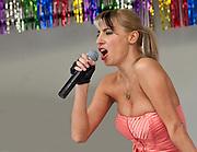 Gracella at the Brooklyn Gay Pride event.