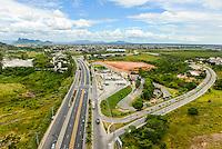 Brasil - Espirito Santo - Serra - Vista aerea da BR 101 no Civit (Centro Industrial de Vitoria) - Foto: Gabriel Lordello/ Mosaico Imagem