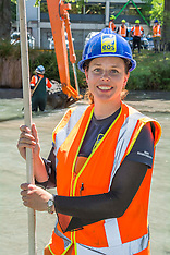 Christchurch-Work begins on upgrading the quality of the Avon River
