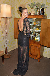 MARISSA HERMER at the Bumpkin Halloween Dinner hosted by Marissa Hermer held at Bumpkin, 119 Sydney Street, London on 23rd October 2014.