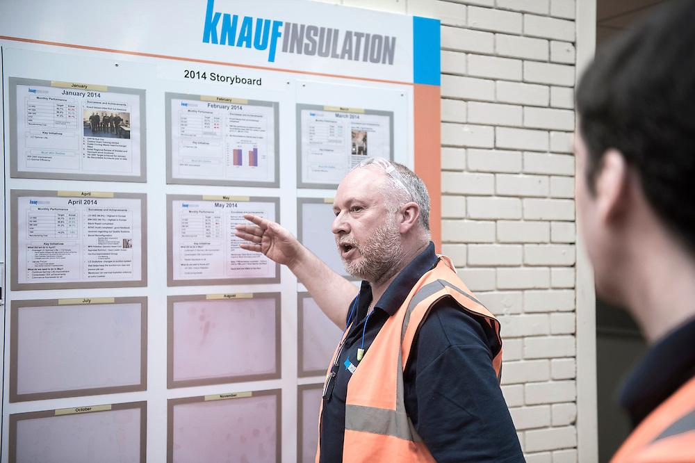 St. Helens, England 23 June 2014<br /> Knauf Insulation factory.<br /> Photo: Ezequiel Scagnetti
