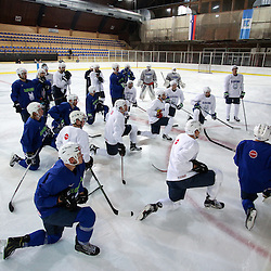 20151102: SLO, Ice Hockey - Press conference and training of Slovenian National Team