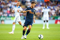 Alvaro Medran of Valencia - Mandatory by-line: Robbie Stephenson/JMP - 01/08/2018 - FOOTBALL - King Power Stadium - Leicester, England - Leicester City v Valencia - Pre-season friendly