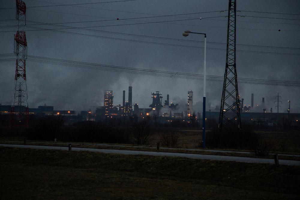 US Steel plant in Velka Ida, Slovakia.