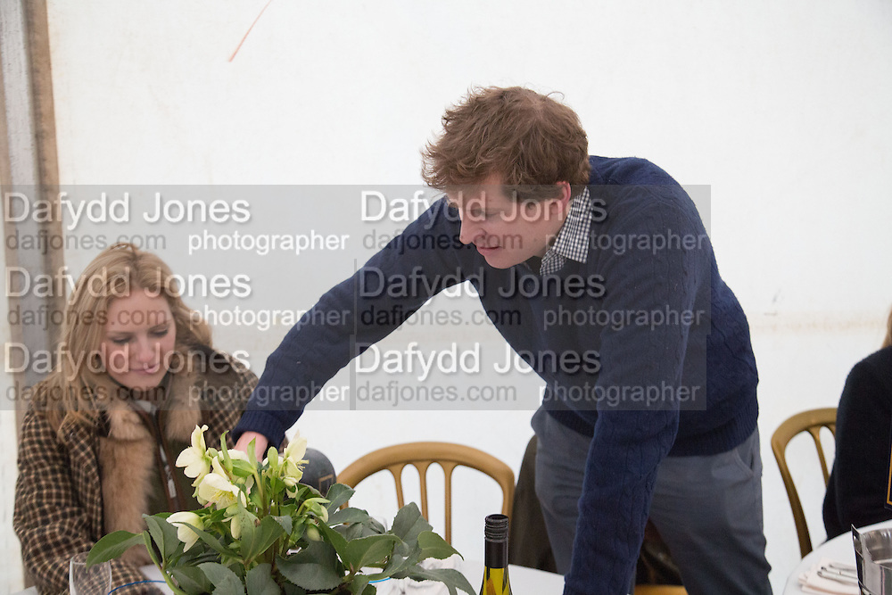 REBECCA FARRER; CHARLIE PRAGNELL, Heythrop Point to Point. At a  new course at Cocklebarrow near Aldsworth. 11 January 2014