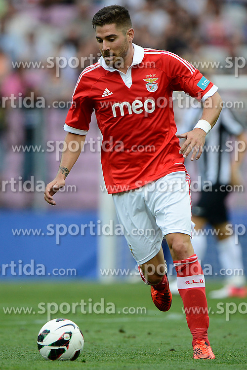 Football: Portugal, Benfica Lisboa.Javi Garcia.© pixathlon..ITALY OUT !