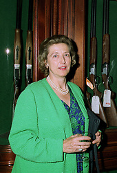 The HON.MRS (David) BUCHAN daughter of Lord Howard de Walden at a party in London on 17th July 1997.MAK 13 WO