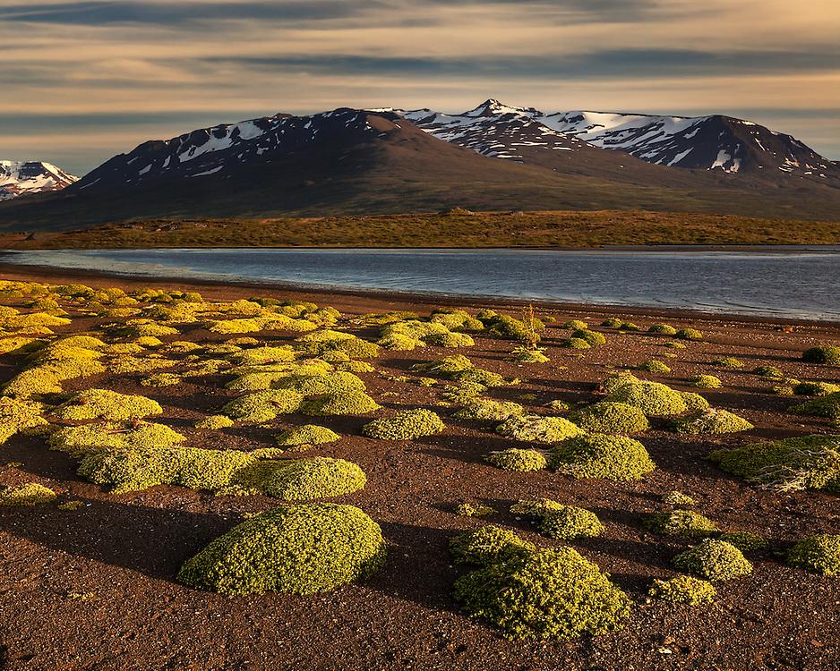 Akureyri Mountain 8-43 PM