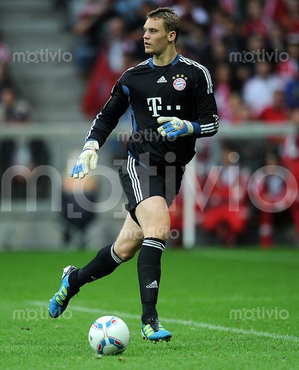 FUSSBALL   1. BUNDESLIGA  SAISON 2011/2012   1. Spieltag FC Bayern Muenchen - Borussia Moenchengladbach           07.08.2011 Torwart Manuel Neuer (FC Bayern Muenchen)