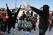 1.premie i Midt-Norsk Cup 2005, 380 kubikk junior 12-14 år: Magnus Langseth fra Selbu.