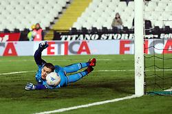 """Foto Filippo Rubin<br /> 06/03/2018 Cesena (Italia)<br /> Sport Calcio<br /> Cesena - Pro Vercelli - Campionato di calcio Serie B ConTe.it 2017/2018 - Stadio """"Dino Manuzzi""""<br /> Nella foto: GOAL LUCA CASTIGLIA (PRO VERCELLI)<br /> <br /> Photo by Filippo Rubin<br /> March 06, 2018 Cesena (Italy)<br /> Sport Soccer<br /> Cesena - Pro Vercelli - Italian Football Championship League B 2017/2018 - """"Dino Manuzzi"""" Stadium <br /> In the pic: GOAL LUCA CASTIGLIA (PRO VERCELLI)"""