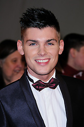 Kieron Richardson at the National Television Awards held in London on Wednesday, 25th January 2012. Photo by: i-Images