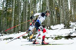 LANDERTINGER Dominik (AUT) competes during Men 10 km Sprint at day 2 of IBU Biathlon World Cup 2014/2015 Pokljuka, on December 19, 2014 in Rudno polje, Pokljuka, Slovenia. Photo by Vid Ponikvar / Sportida