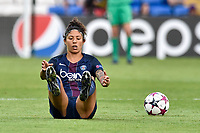 Cristiane of  Paris Saint-Germain looks dejected during the UEFA Women's Champions League Final between Lyon Women and Paris Saint Germain Women at the Cardiff City Stadium, Cardiff, Wales on 1 June 2017. Photo by Giuseppe Maffia.<br /> <br /> <br /> Giuseppe Maffia/UK Sports Pics Ltd/Alterphotos