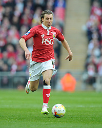 Bristol City's Luke Freeman - Photo mandatory by-line: Joe Meredith/JMP - Mobile: 07966 386802 - 22/03/2015 - SPORT - Football - London - Wembley Stadium - Bristol City v Walsall - Johnstone Paint Trophy Final