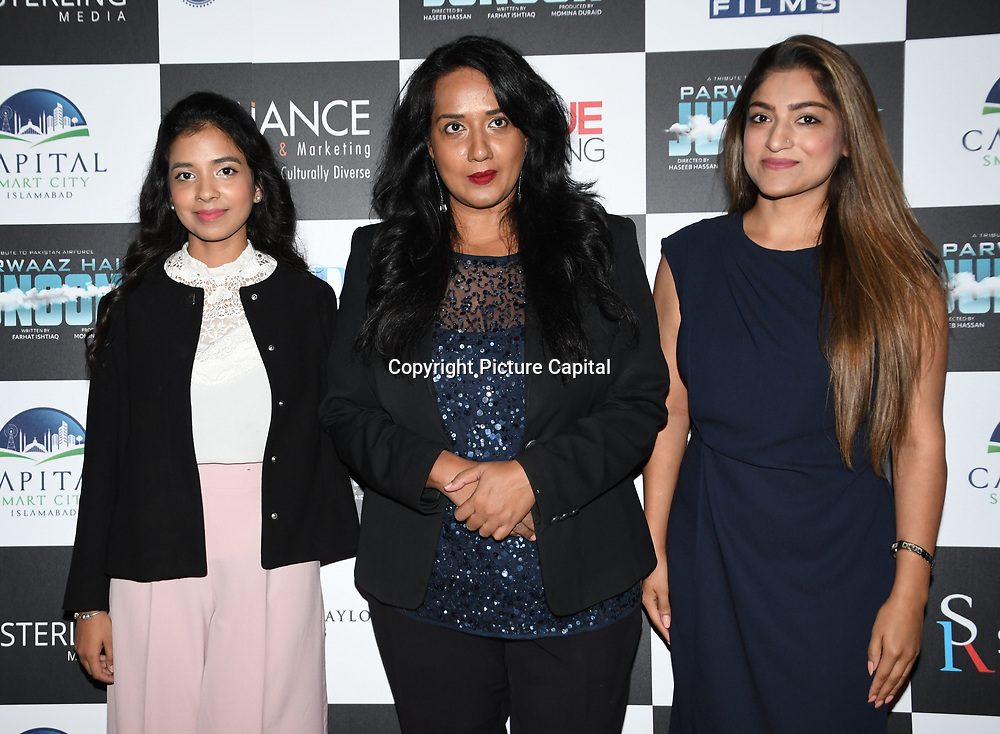 Vip guests attend London Premiere of Soaring Passion as featured on SKY, ITV, BBC with A List stars Keisha White, Hania Amir, Hamza Ali Abbasi, Ahad Raza Mir at The May Fair Hotel, Stratton Street, London, UK. 22 August 2018.